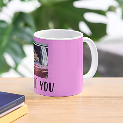 5TheWay You Netflix Goldberg Penn Joe Badgley Series Mug Best 11 oz Kaffeebecher - Nespresso Tassen Kaffee Motive