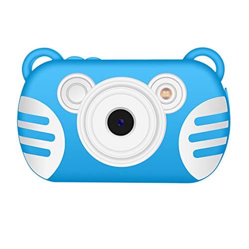 JCOCO Fun Kids Electronic Camera - 2.7-inch Smart Development Children's Waterproof Digital Camera - Best Rechargeable Battery and case