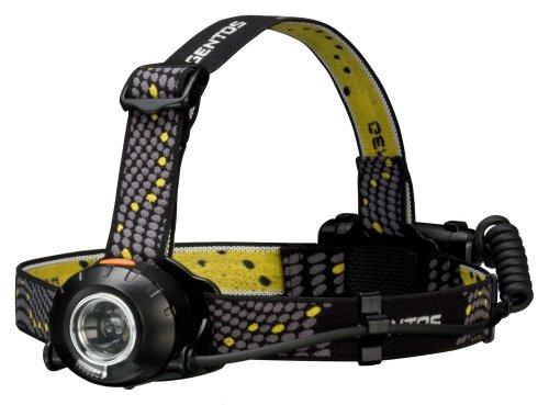 GENTOS(ジェントス) LED ヘッドライト 【明るさ230ルーメン/実用点灯8時間/防滴】 ヘッドウォーズ HW-999H ...