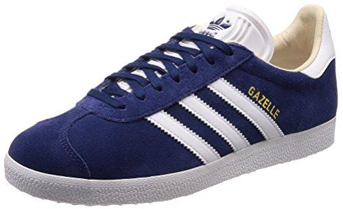 adidas Damen Gazelle Fitnessschuhe, Blau Noble Indigo Footwear White Linen, 37 1/3 EU