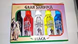 Cofre de minis Sambuca Itaca 5X40ml 38& Alchol...