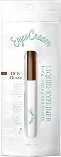 Eyescream Liquid Eyeliner - Color : Bitter Brown (Made in Japan)
