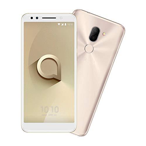 Teléfono Celular Barato Alcatel 3X 5058A. Cuenta con Android 7.0 Nougat. Cámara de 13 + 5 Megapíxeles…