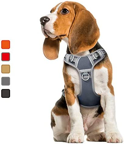 ATOPARK Dog Harness No Pull Pet Harness Adjustable Comfortable Harness with Handle Outdoor Pet product image
