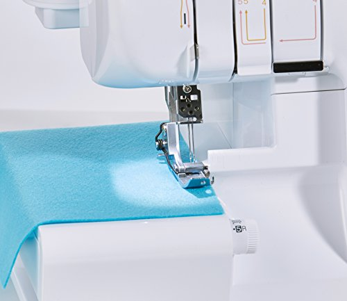 Brother M343D Overlocker, Other, White, 38.5 x 33 x 36.5 cm