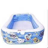 BCCDP Piscina hinchable, patuguera familiar para interior y exterior, gran bañera plegable y duradera, piscina familiar hinchable, bañera de gran tamaño para niños y adultos