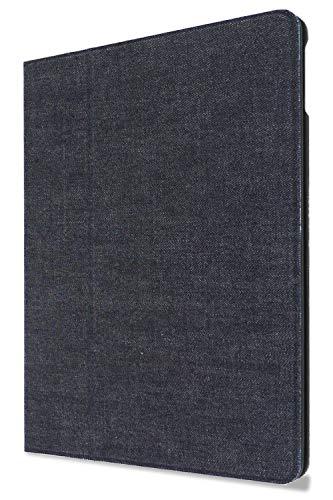 NeedNetwork 岡山デニム ipad 用 ケース 第6/5世代 9.7 2018 2017モデル 用 おしゃれ ペン収納 ペンホルダー 薄型 手帳型 軽量 ウェイク オートスリープ機能 スタンド iPad カバー アイパッド 用 耐衝撃