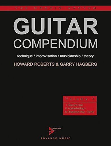 Guitar Compendium: technique / improvisation / musicianship / theory. Vol. 1. Gitarre. Lehrbuch. (The Praxis System, Band 1)