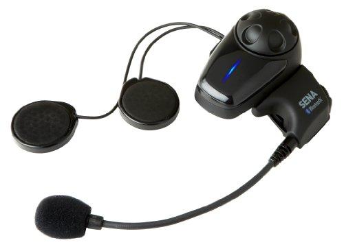 Sena SMH10-10 Auricular Bluetooth e intercomunicador para motos, paquete unitario, 1 pieza