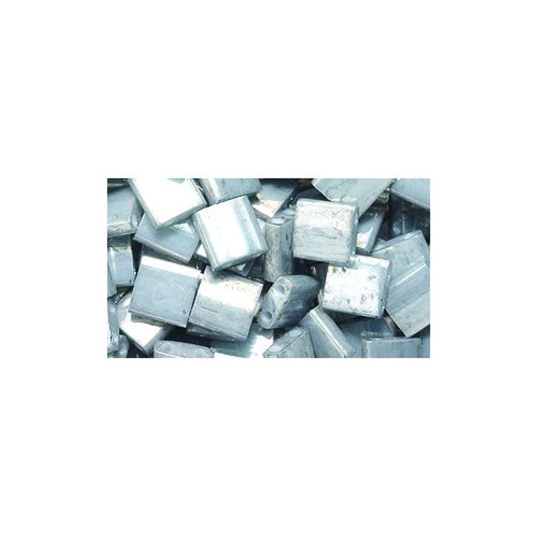 Shipwreck Beads Miyuki Tila Two Hole Bead, 5mm, Galvanized Grey Luster