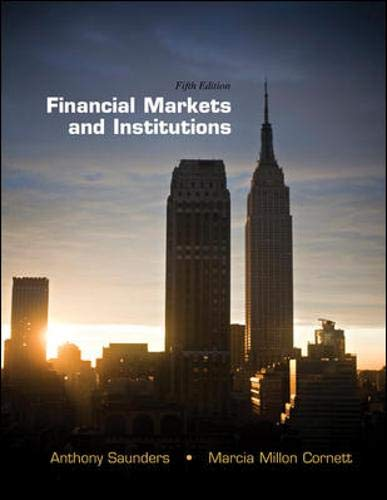 Download Financial Markets and Institutions (The Mcgraw-hill/Irwin Series Finance, Insurance and Real Estate) 0078034663