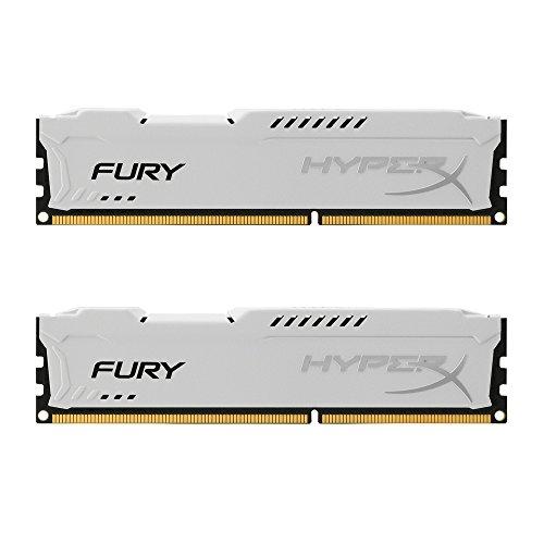 Hx316C10Fw8 - Memória Hyperx Fury De 8GB Dimm DDR3 1600Mhz 1,5V Para Desktop