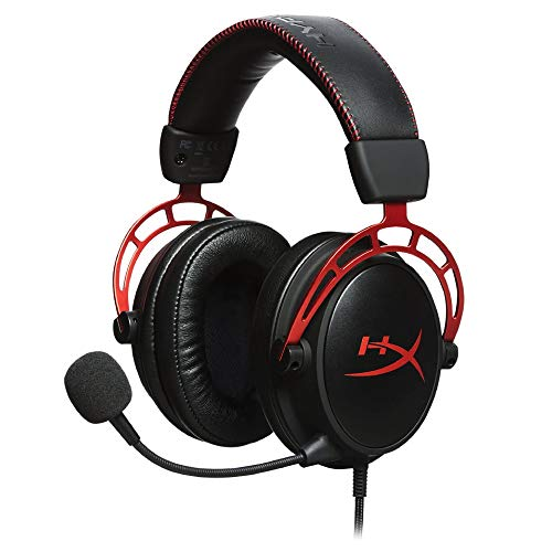 HyperX Cloud Alpha ゲーミング ヘッドセット インライン音量コントロールBox付属 レッド 2年保証 HX-HSCA-...