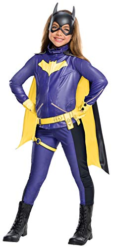 Rubie's Costume Girls DC Comics Premium Batgirl Costume, Large, Multicolor