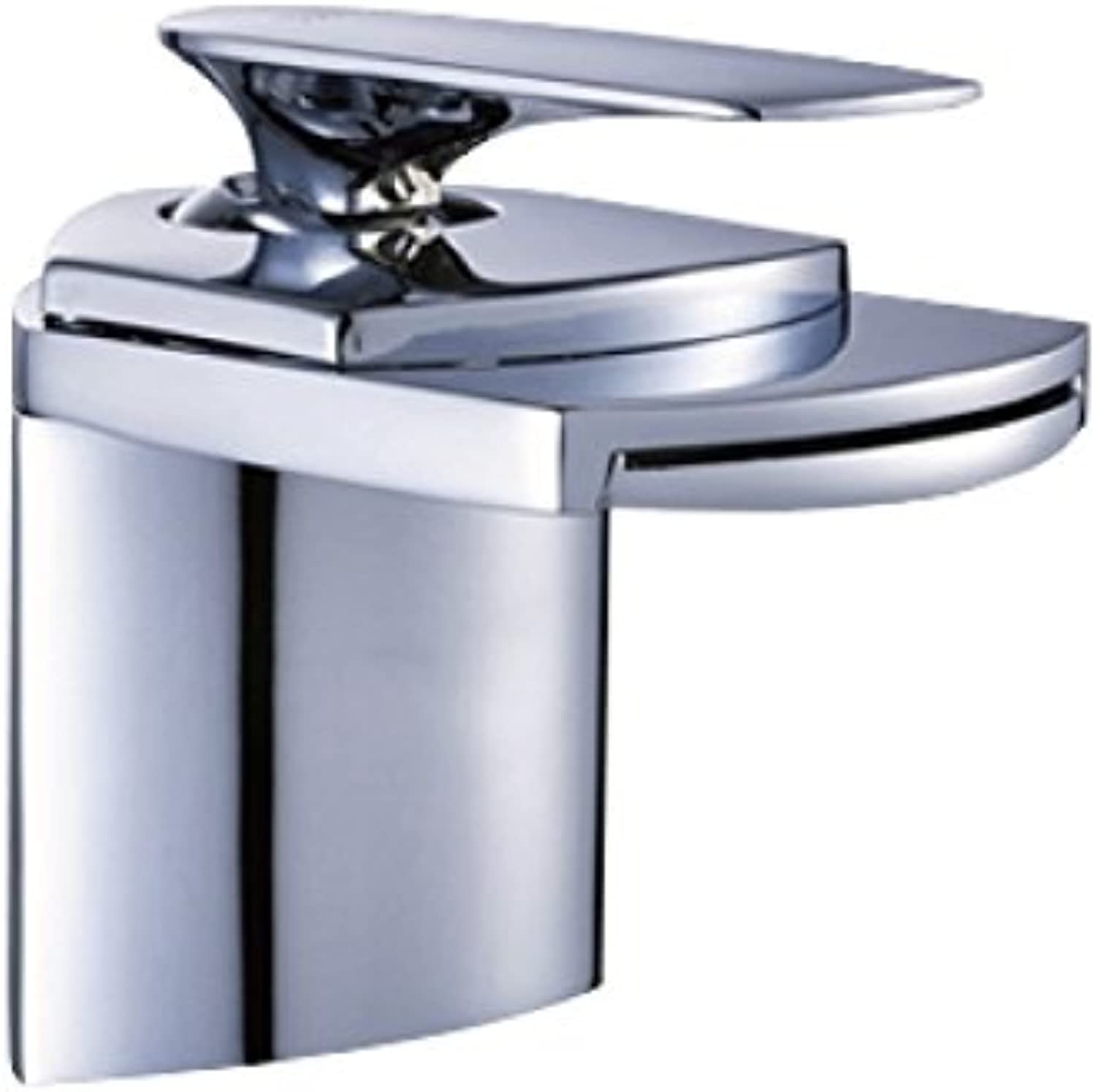 Faucet Kitchen Faucet Hot And Cold Basin Faucet Copper Chrome Waterfall Faucet Wash Basin Home