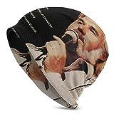 Hdadwy Kenny Rogers Greatest Hits Poster Gorro Ultrafino con Estampado Interior y Exterior Gorra Transpirable, Color Negro