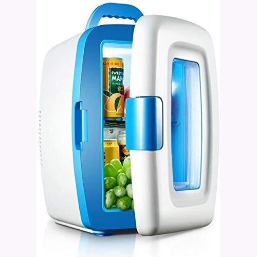 Rindasr Elektrische koelkast, 10 liter, mini-koelkast en warmere koeling, voor thuis, draagbaar, reizen, klein, buitenkoelkast