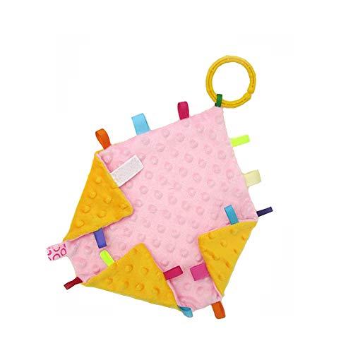 G-Tree Couverture de sécurité pour bébé en peluche Couverture de sécurité infantile pour les garçons et les filles. Apaisant et Fun, Couverture Comfort 30 X 30 cm Taille