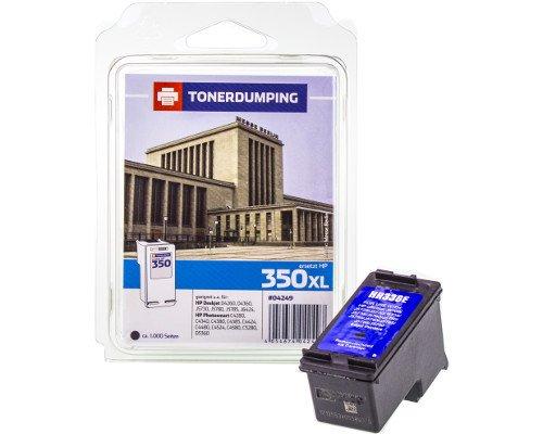 Tóner Dumping Impresora Tinta Compatible con HP 350X L/CB336EE Negro