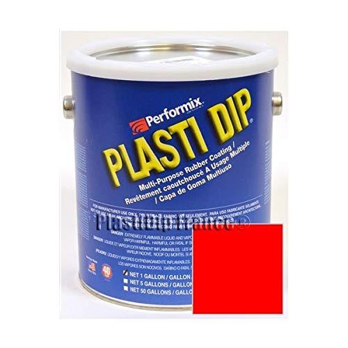 Plasti Dip Rosso fluo tanica 3.78l