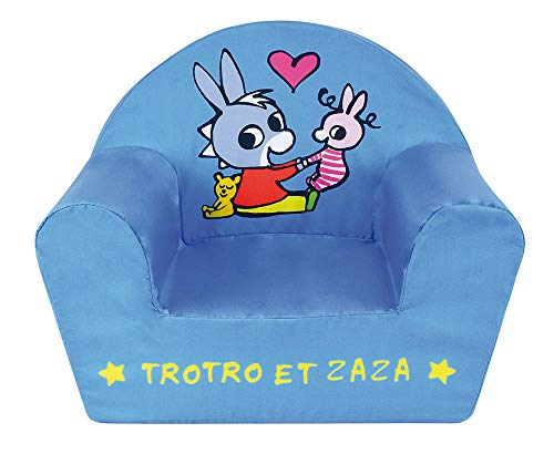 Fun House 713261 L'ANE TROTO ET Zaza Fauteuil Club Enfant Origine France Garantie