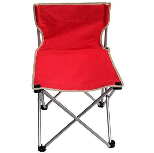 Qazwsx 1 Personne Camping Pliant Chaise Pliant En Aluminium En Alliage Oxford Tissu Pour Camping,Red
