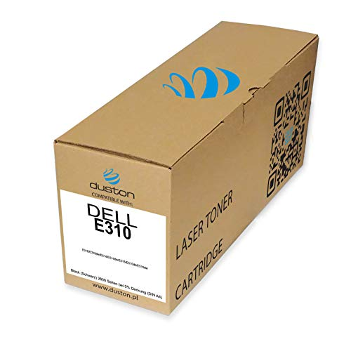 E310, 593BBLH Regenerated black toner cartridge Duston, compatible with Dell E310 E310dw E514 E514dw E515 E515dn E515dw