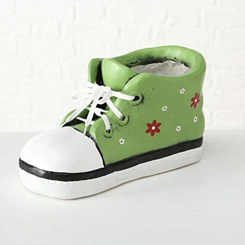 Pflanztopf Schuh Miley grün Magnesia