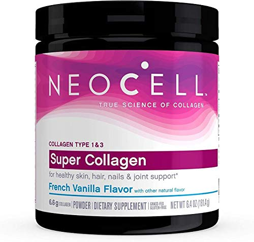 NeoCell Super Collagen Type 1 & 3, French Vanilla, 181g