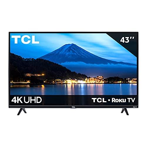 Pantalla TCL 43' 4K Smart TV LED 43S425-MX Roku TV