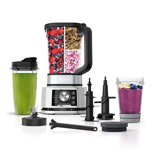 Ninja Foodi SS351 Power Blender & Processor System with Smoothie Bowl Maker...