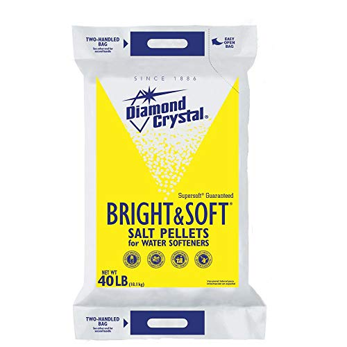 Diamond Crystal Bright and Soft Water Softener Salt Pellets