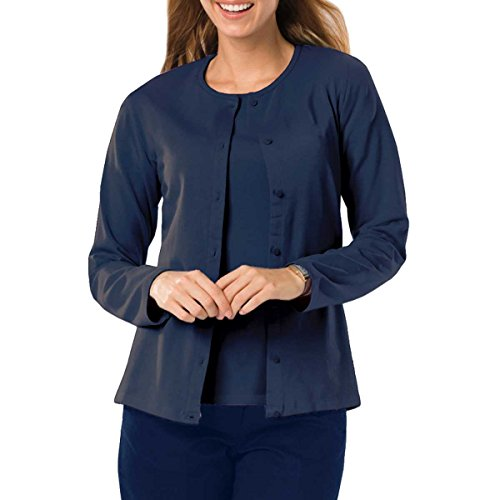 Amy Alder Womens Long Sleeve Open Front Cotton Cardigan Sweaters Cardy Topper
