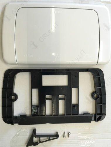 ITS Todini - Placca di Comando ad Incasso per WC - Cassetta Hydrobox di Scarico Mono Pulsante