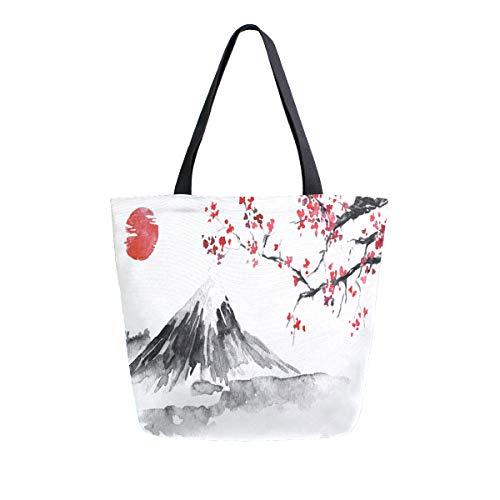 Wukong Paradise Bolso nudo de kimono japon/és Totes Wallet Satchels Bolsa de playa Tama/ño peque/ño-A45
