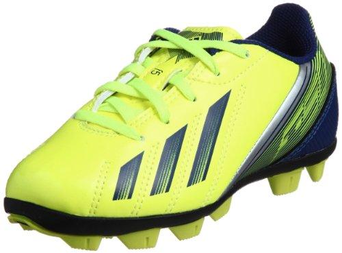 adidas F5 TRX HG Pista Dura Niño Botas De Fútbol Amarillo/Azul