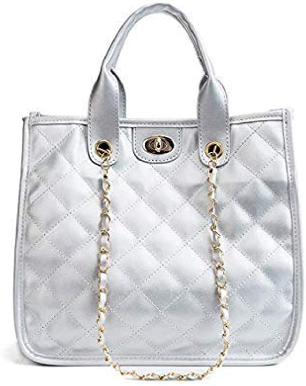 d65392753ac VOLESS Women Bag Fashion Chain Lock Handbag Casual Large Shoulder ...