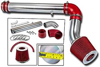 Rtunes Racing Cold Air Intake Kit + Filter Combo RED Compatible For 05-10 Chrysler 300 2.7L V6 / 05-09 Dodge Magnum/Charger 2.7L V6