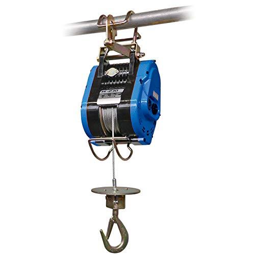 PLANETA H20619 Bauseilwinde, TYP BW-80, Tragfähigkeit in allen Seillagen 80 kg, Seilgeschwindigkeit 18 -30 m/min., 23 m Hubhöhe, 230 V