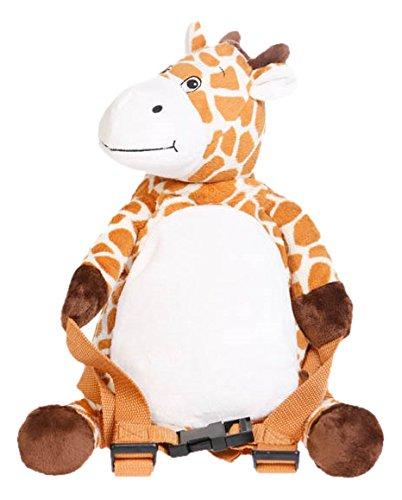 BoBo Buddies Sac à dos avec sécurité Girafe Beige