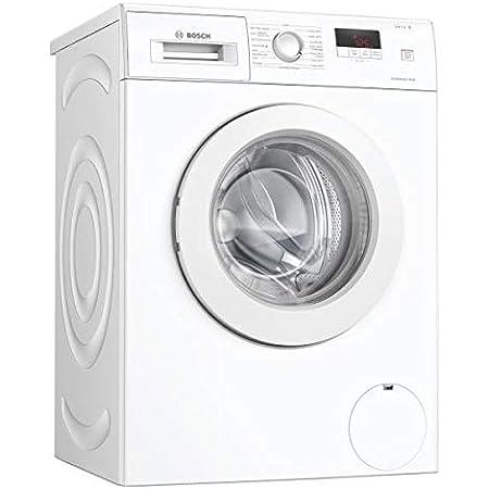 """""""Bosch WAJ28057FF Lave-linge Pose-libre front Série 2 - EcoSilence Drive - 7 kg - 1400 trs/min - 55l - Fin différée 24h - Blanc"""""""