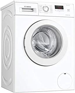 """""""Bosch WAJ28057FF Lave-linge Pose-libre front Série 2 - EcoSilence Drive - 7 kg - 1400 trs/min - 55l - Fin différée 24h - ..."""
