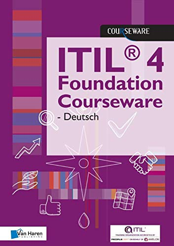 Van Haren Learning Solutions A.O.,: ITIL(R) 4 Foundation Cou (Courseware)
