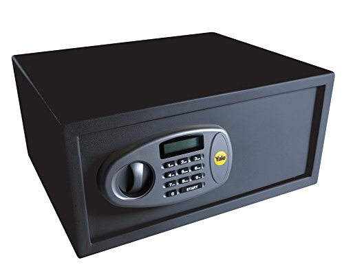 Yale Y-LTS0000 Laptop Digital Safe, Steel Construction, LCD Display, Ideal for Laptop and Media Storage, 24 Litre Capacity