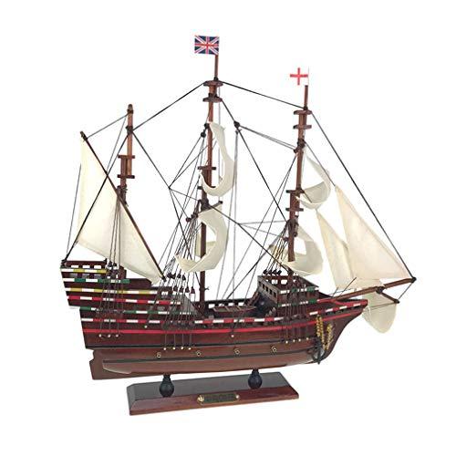 Kw-tool Maqueta de Barco, Herramientas de construcción Maqueta de Barco Maqueta de Barco Maqueta ensamblada Maqueta de navegación clásica Mayflower Sailing