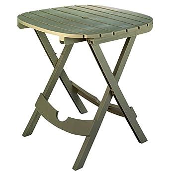 Adams Mfg Co 8550-96-3731 Fold Cafe Table Portobello