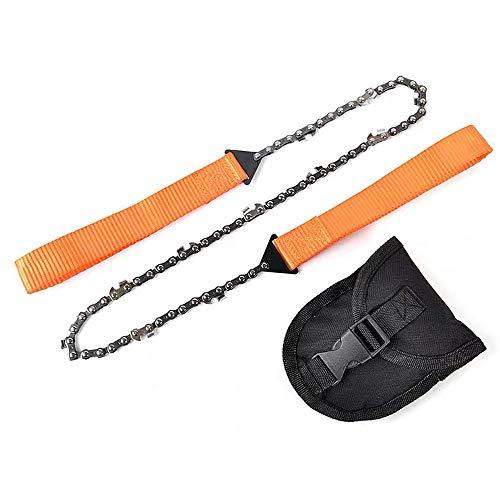 CPSTM Drahtsäge Drahtsägeblatt Taschen-Armband-Säge Camping Outdoor Survival Equipment Holzschneiden Tragbare Taschenkettensäge-11 Zähne
