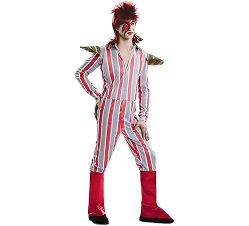 EUROCARNAVALES, SA Disfraz de David Bowie para Hombre M/L