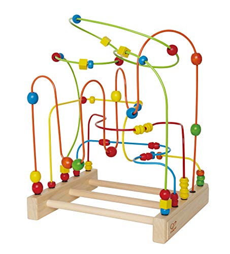 Award Winning Hape Original Supermaze Wooden Bead Activity Learning Center