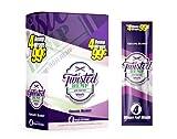 Twisted Hemp Wraps Grape Burst 15 puches with 4 wraps